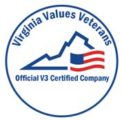VA values veterans logo
