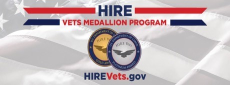 "hire - US Department of Labor HIRE Vets ""Gold Medallion"" Award Winner"