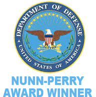 "Nunn Perry Award - US Department of Labor HIRE Vets ""Gold Medallion"" Award Winner"