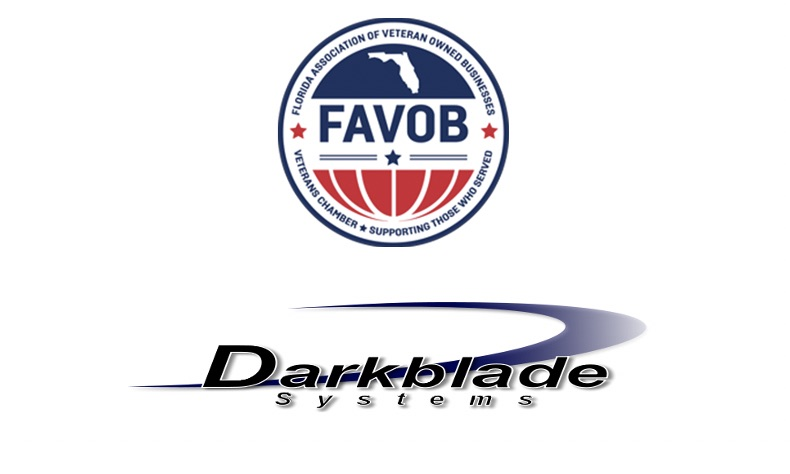 FAVOB and Darkblade Systems logo